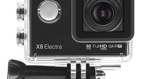 LAMAX ACTION X8 Electra + MadMan čelenka pro akční kamery v ceně 370 Kč