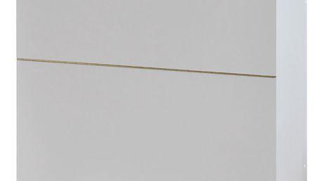 Skříňka na lůžkoviny 145 bílá