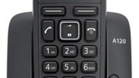Domácí telefon Siemens A120 (S30852-H2401-R601) černý