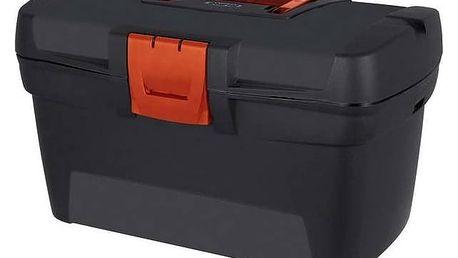 Kufr na nářadí Curver 13 02898-888 Herobox Premium černý/červený
