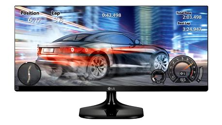 """LG 34UM58-P - LED monitor 34"""" - 34UM58-P.AEU"""