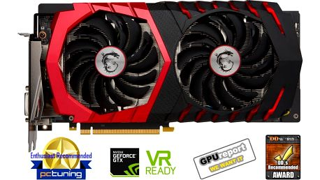 MSI GeForce GTX 1060 GAMING X 6G, 6GB GDDR5 + Kupon na hru ROCKET LEAGUE, platnost od 30.5.2017 - 25.9.2017