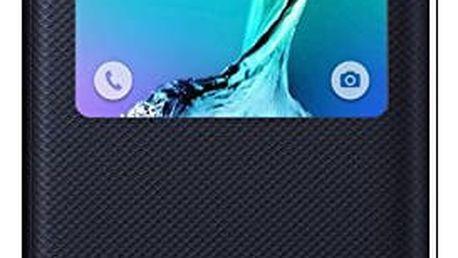 Samsung EF-CG928P S View pouzdro pro Galaxy S6 edge+ (SM-G928F), modrá/černá - EF-CG928PBEGWW