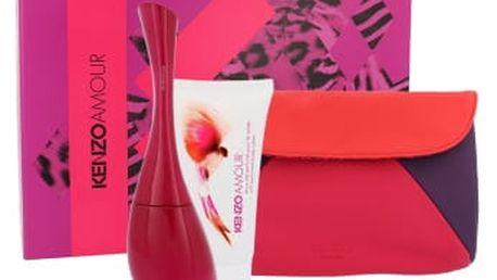 KENZO Kenzo Amour dárková kazeta pro ženy parfémovaná voda 100 ml + tělové mléko 50 ml + kosmetická taška
