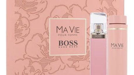 HUGO BOSS Boss Ma Vie Pour Femme dárková kazeta pro ženy parfémovaná voda 75 ml + tělové mléko 200 ml