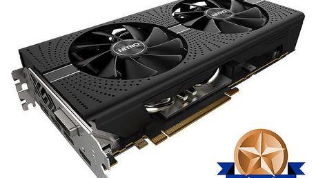 Sapphire Radeon NITRO+ RX 580, 8GB GDDR5 - 11265-01-20G