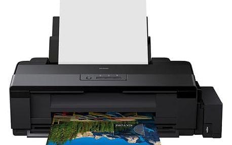 Tiskárna inkoustová Epson L1300 (C11CD81401) černá A3, 30str./min, 17str./min, 5760 x 1440, USB