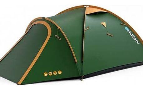 Stan Husky Outdoor Bizon 4 Classic zelený + Doprava zdarma