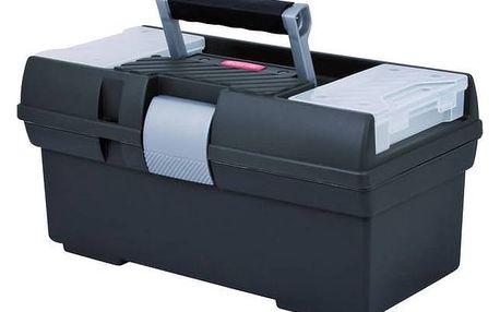 Kufr na nářadí Curver Premium 02925-976 M stříbrný/šedý