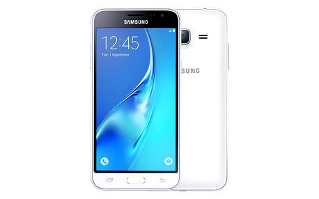 Samsung Galaxy J3 (2016) Dual Sim, bílá - SM-J320FZWDETL