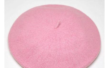 Dámský baret - Světle růžová