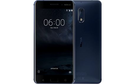 Nokia 6 Dual SIM Modrá