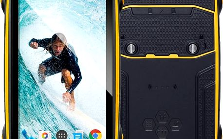 Evolveo StrongPhone Q8, žlutá - SGP-Q8-LTE-Y
