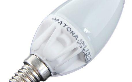 Patona E14/230V C37 SMD2835 5W teplá bílá 450lm - PT4095