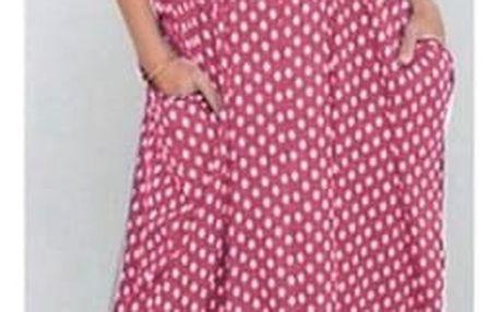 Letní šaty dlouhé - růžové - velikost 4 - dodání do 2 dnů