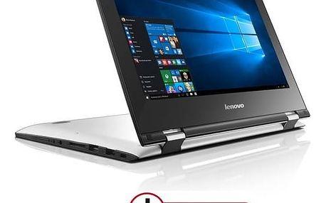 Notebook Lenovo IdeaPad YOGA 300-11IBR + Office 365 (80M100SNCK) bílý Software F-Secure SAFE 6 měsíců pro 3 zařízení (zdarma)Monitorovací software Pinya Guard - licence na 6 měsíců (zdarma) + Doprava zdarma