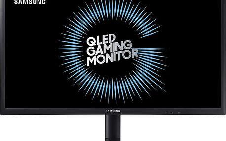 """Samsung C24FG73 - LED monitor 24"""" - LC24FG73FQUXEN + Myš OZONE NEON M50 černá (v ceně 1399 Kč)"""