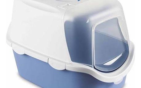 Toaleta Stefanplast Cathy Easy Clean uzavíratelná / modrá