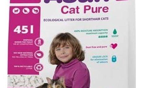 Podestýlka Asan Cat Pure 45l