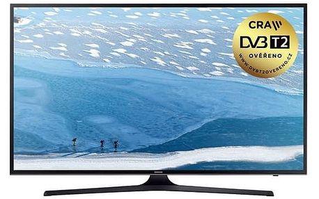 Televize Samsung UE43KU6072 černá + Doprava zdarma