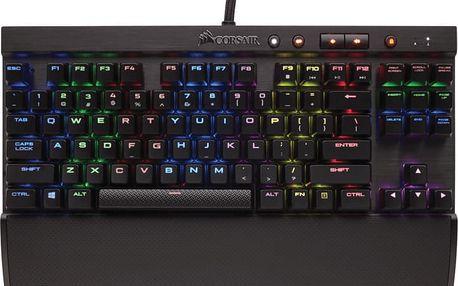 Corsair Gaming K65 RGB RAPIDFIRE, Cherry MX Speed, NA - CH-9110014-NA
