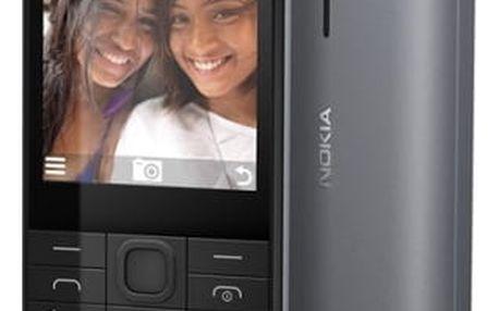Mobilní telefon Nokia 230 Dual SIM (A00026952) černý