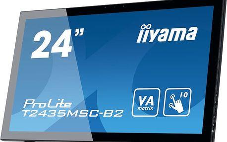 "iiyama ProLite T2435MSC Touch - LED monitor 24"" - T2435MSC-B2"