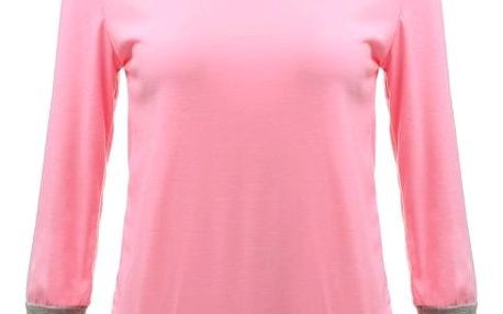 Tričko se spadlým rukávem - růžové, velikost 3