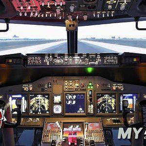 Let na simulátoru Boeingu 737 se soukromým instruktorem v My Airlines v Praze