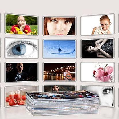100 nebo 200 fotografií v lesklém nebo matném provedení na kvalitním papíře značky Fuji