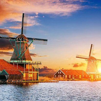 3denní zájezd do Amsterdamu a skanzenu Zaanse Schans pro 1