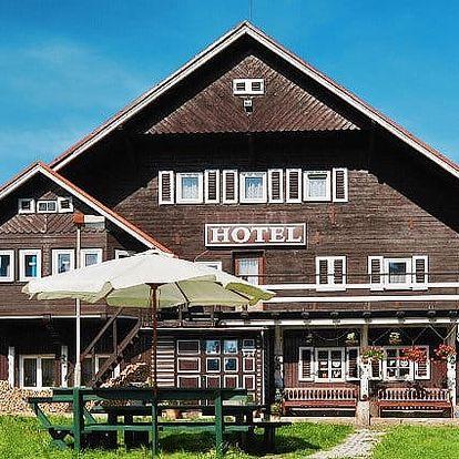3–6denní pobyt se snídaní pro 2 na samotě v hotelu U Červené lišky v Krušných horách