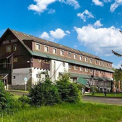 3 až 6denní pobyt pro 2 s polopenzí a saunou v hotelu Maxov*** v Jizerských horách