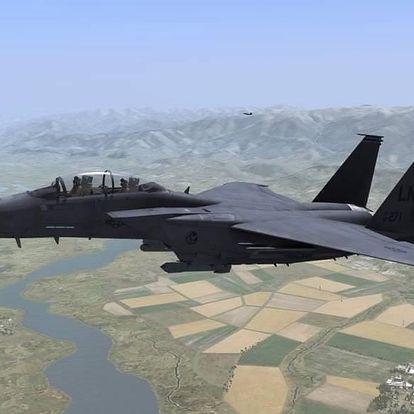 Letecký simulátor stíhačky L-39