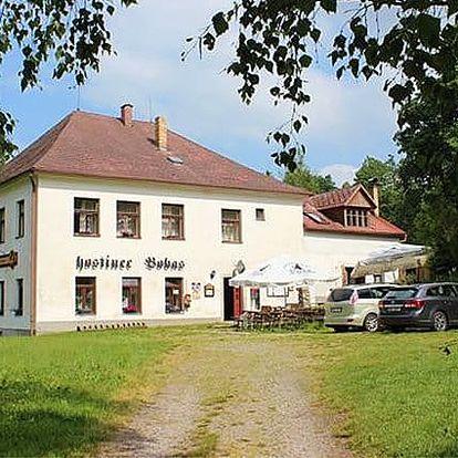 3denní pobyt se snídaněmi nebo polopenzí pro 2 v penzionu Bobas na jihu Čech