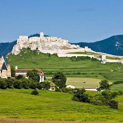 3–7denní pobyt pro 2 osoby s polopenzí v Grand Hotelu Spiš*** ve Slovenském ráji