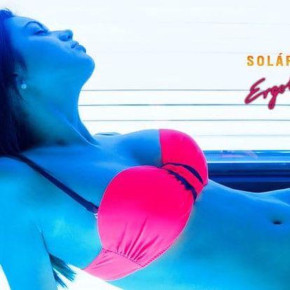 Permanentka v hodnotě 1 000 nebo 3 000 do solária Ergoline v Praze
