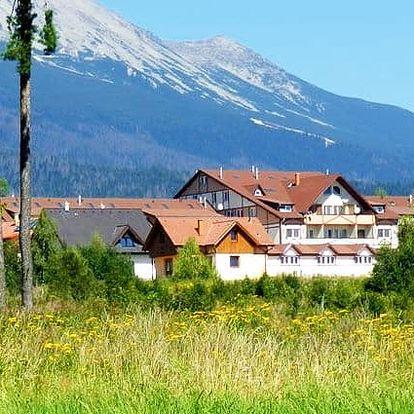3–6denní pobyt pro 2 s polopenzí a wellness v hotelu Autis*** ve Vysokých Tatrách