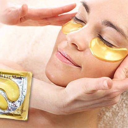 Maska pod oči s 24karátovým zlatem proti vráskám