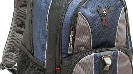 """WENGER COBALT - 16"""" batoh na notebook, modrý - 600629 + Stylový bezdrátový reproduktor Connect IT CI-823 v ceně 499,- Kč zdarma!"""