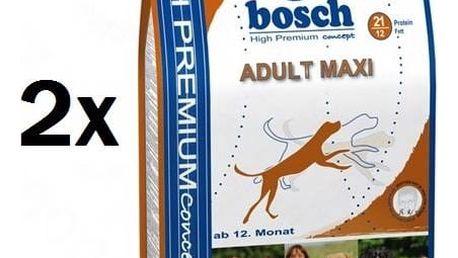 Granule Bosch Adult Maxi 2 x 15 kg , pro dospělé psy + Doprava zdarma