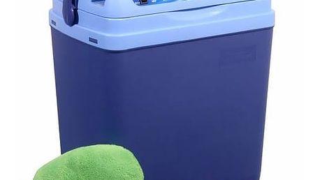 Chladicí box Compass 25 l BLUE 220 / 12 V displej s teplotou + Doprava zdarma