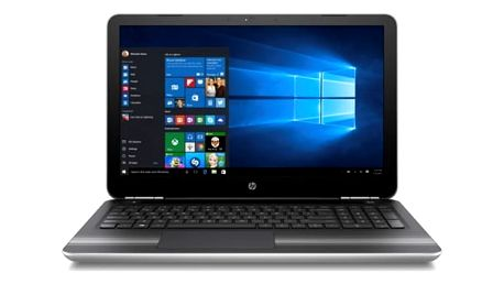 "Notebook HP 15-aw018nc (Y5K22EA#BCM) stříbrný A6-9210, 8GB, 256GB, 15.6"", Full HD, DVD±R/RW, AMD R7 M440, 2GB, BT, CAM, W10"
