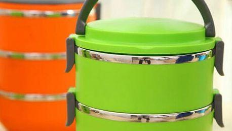 Jídlonosič ve dvou provedeních - 3 barvy