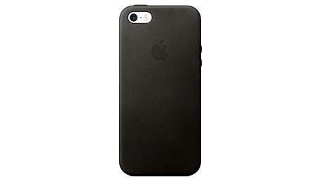 Kryt na mobil Apple Leather Case pro iPhone 5S/SE (mmhh2zm/a) černý