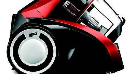 Vysavač podlahový Dirt Devil Rebel 54HFC červený Turbohubice Dirt Devil M219 MINI (zdarma) + Doprava zdarma