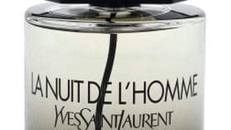 Yves Saint Laurent La Nuit De L´Homme 100 ml toaletní voda pro muže