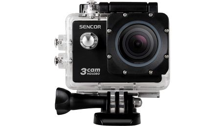 Sencor 3CAM 5200W - 8590669171781 + Baterie pro akční kameru Sencor 3CAM 5200W v ceně 249 Kč