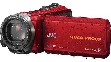 JVC GZ R435R, červená - 4975769447204