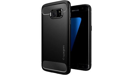 Spigen Rugged Armor, black - Gal S7 edge - 556CS20033